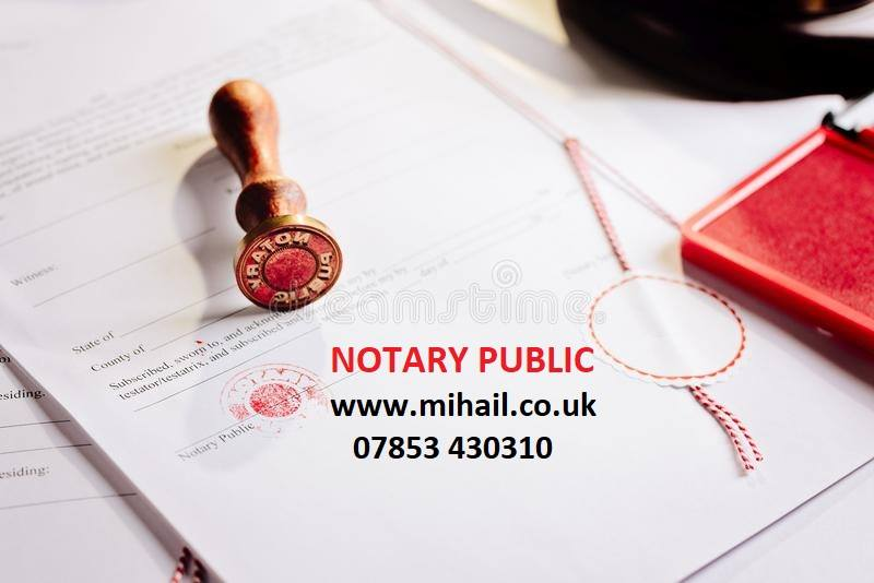 Notary Public West London